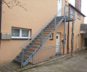 Außentreppe Stahl außentreppen übergänge jawa sicherheits studio